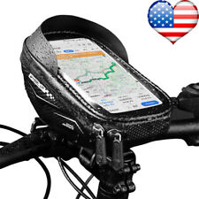 "Waterproof Bicycle Bike 6.5"" Mount Phone Holder Case Bag Pouch Cover for Mobiles"