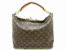 LOUIS VUITTON LV Monogram Sully PM M40586 Shoulder Hand Tote Bag Used db11843fdc5a3