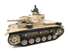 Heng Long 6.0v Tauch Panzer III Funkfernbedienung BB schießen Tank 1/16 UK