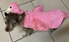 Halloween Pink Flamingo Pet Costume Very Soft - Size Large - Brand New