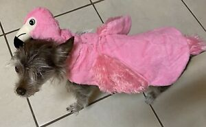 Halloween Pink Flamingo Pet Costume Very Soft - Size Small - Brand New