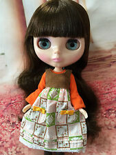"""Takara 12"""" Neo Blythe Nude Doll From Factory dark hair with bangs free shipping"""