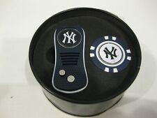 0fad4b11dc4348 New York YANKEES Golf Switchblade Divot Tool / Golf Chip / 2 Ball Markers  Set
