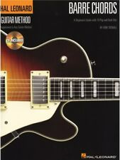 Guitar Method Barre Chords Learn to Play Rock Songs Beginner LESSON MUSIC BOOK