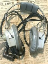USSR aviation pilot headphones gnsh-p-13
