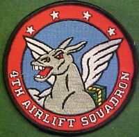 U.S. Air Force 4th Airlift Squadron Patch