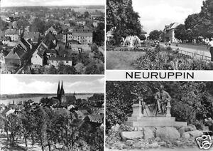 AK, Neuruppin, vier Abb., 1974