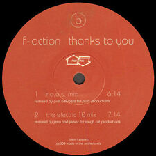 F-ACTION - Thanks To You (Remixes) - Push & Pull