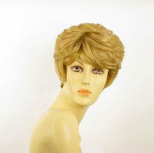 Perruque femme courte blond doré CLEMENTINE 24B