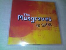 THE MUSGRAVES - SO SOFIA - 2012 PROMO CD SINGLE