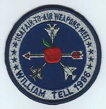 1986 WILLIAM TELL MEET #2 (with F-18) patch