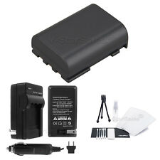 NB-2LH Battery+Charger+BONUS for Canon ZR800 ZR830 ZR850 ZR900 ZR930 ZR950 ZR960