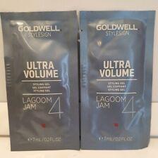 Goldwell Ultra Volume Lagoom Jam 4 Styling Gel 7ml sample sachets x 2