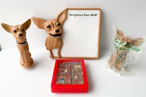 TACO BELL Dog toys Yo Quiero Memo Board, Maze, U3 Chihuahua, & Candy Dispenser