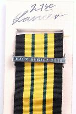 EDVII AGSM AFRICA GENERAL SERVICE MEDAL CLASP or RIBBON BAR EAST AFRICA 1915