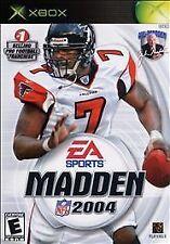 Madden NFL 2004 (Microsoft Xbox, 2003)