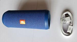 Blue JBL Flip 3 Portable Wireless Speaker - Works but SOLD-AS-IS - Read Details