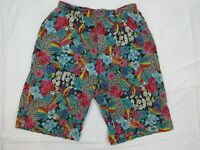 Vintage Mens Board Shorts Size 2XL Beach 90s Bright Loud Surfing Sports Mambo