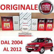 KIT TAGLIANDO 3 FILTRI ORIGINALI + OLIO SELENIA 10W40 FIAT PANDA 1.1 1.2 BENZINA