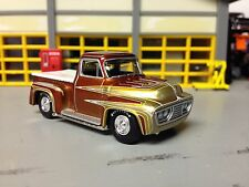 "1/64 53 Ford Kustom Pickup the"" Wild Kat"" by George Barris in Root Beer/Gold"