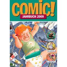COMIC JAHRBUCH 2009 Cartoon-Comic-Trickfilm  240 Seiten ICOM
