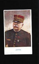 France WWI Ancillary Postcard UNUSED Marshal Joffre Circa 1915 6w