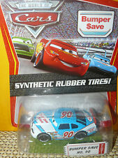 DISNEY PIXAR CARS-BUMPER SAVE#90 SYNTHETIC RUBBER TIRES! NEW(NUEVO,METAL,1:55)