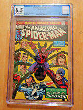 AMAZING SPIDER-MAN #135 *CGC 6.5 OW TO WP*  2ND APP OF PUNISHER 1974