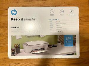 HP DeskJet 2725 Wireless All-In-One Instant Ink Ready Inkjet Printer, White