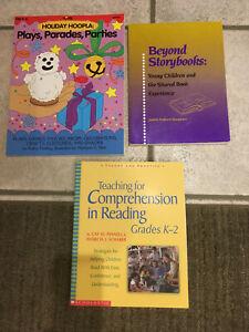 LOT 3 Teaching Preschool to gr 2 Holidays, Comprehension, Shared Books, homescho