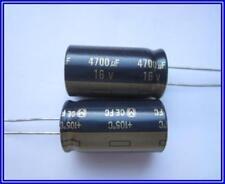 Panasonic Elko Elektrolyt Kondensator 4700µF 16V 105° 16x32mm Ra.7,5mm 2  Stück