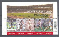 BLOK 129 memorial ivo van damme postfris** 2006