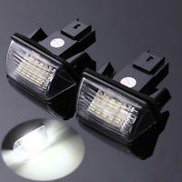 LED Éclairage Plaque d'immatriculation Pour Peugeot 206 207 308 407 Citroen
