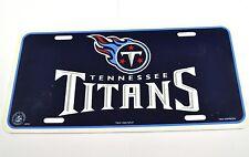 Tennessee Titans USA License Plate Football Américain NFL Bleu