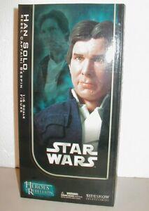 Star Wars SIDESHOW HAN SOLO BESPIN (Heroes Rebellion)1:6 figure (2006)