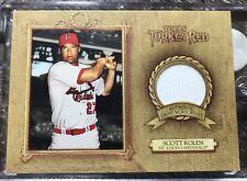 2007 Topps TURKEY RED #TRR-SR Scott Rolen - GU Jersey - Cardinals - FREE SHIP