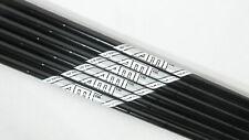 NEW (3-8) True Temper AMT Tour White R300 REGULAR Steel Iron Shafts BLACK FINISH