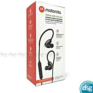 Motorola Verve Loop 500 ANC Wireless Noise Cancelling In Ear Buds Headphones