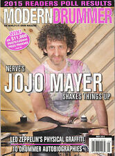 MODERN DRUMMER May 2015 Cover Nerve JOJO MAYER Ty Segall Joey Baca Britt Walford