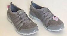 New Women's Skechers GRATIS SHAKE IT OFF Gray  Slip On Sneakers sz 11