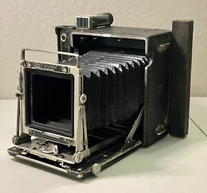 1949 Graflex Pacemaker Speed Graphic 4X5 Camera AS IS PARTS OR REPAIR