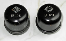 Pair of EF12K Tubes made by Telefunken