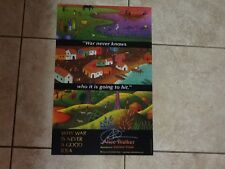"""Poster """"Why War Is Never a Good Idea"""" Alice Walker - SIGNED by18"""" h x 12"""" w"""