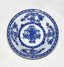"N Straus & Sons Blue Wahmee 4"" Blue & White Dish Bowl"