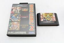 Megadrive Game Mega Games 2 Shinobi Golden Axe Streets Rage PAL No Instructions