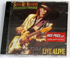 STEVIE RAY VAUGHAN AND DOUBLE TROUBLE - LIVE ALIVE - CD Sigillato