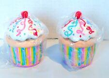 PartyLite Celebration Cupcake Votive Holder Pair P7327 Birthday