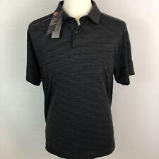 Under Armour Heatgear Para Hombres Gris oscuro camiseta de Polo Golf-Grande-Nuevo con etiquetas