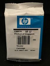 HP 57 Tri-color Inkjet ink- Sealed No Box 2007 OEM NEW Single Unit C6657AN
