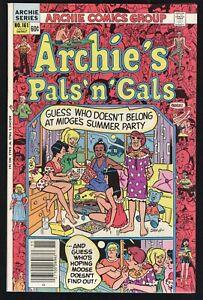 Archie's Pals 'n' Gals #161 (Archie 11/82) High Grade NM; 3rd app Cheryl Blossom